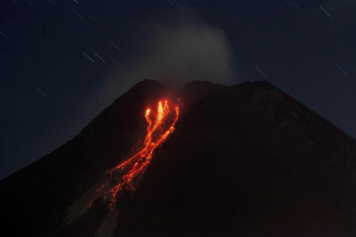 Sopka Merapi