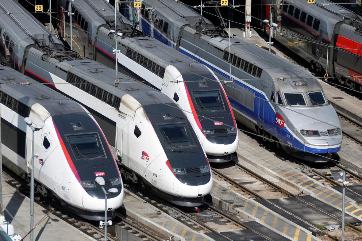 Vlaky TGV