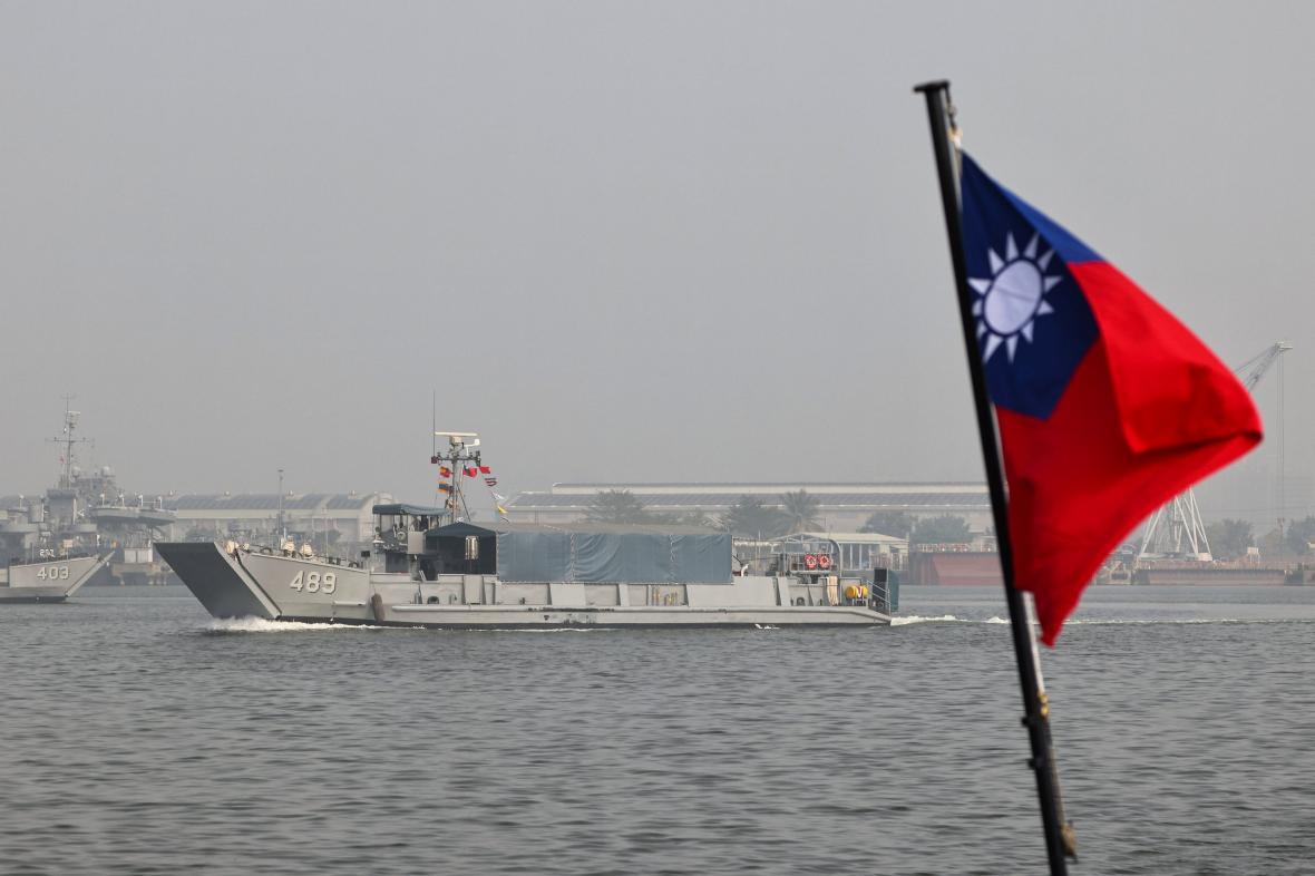 Vojenské cvičení na Tchaj-wanu
