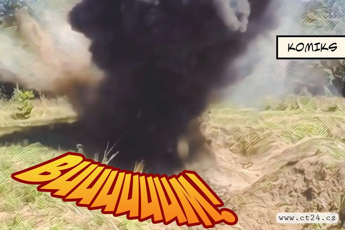Pyrotechnici posedmé čistí Boří les