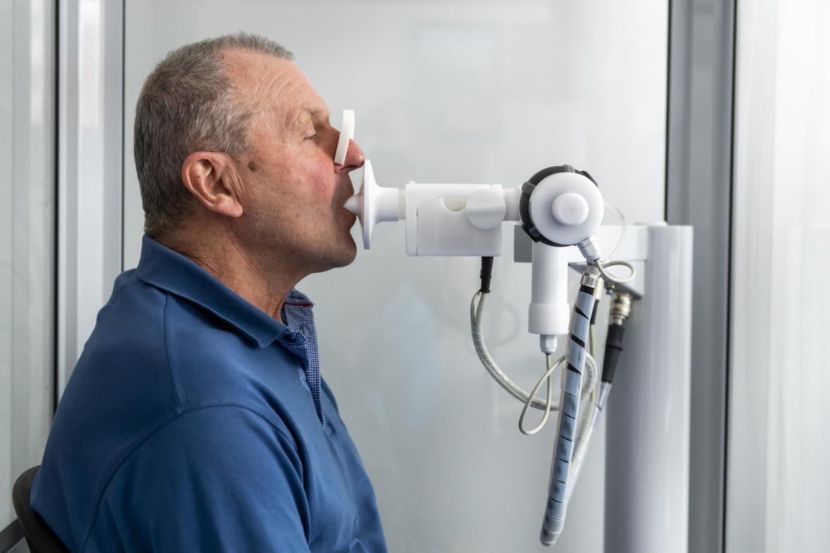 Spirometrické vyšetření plic