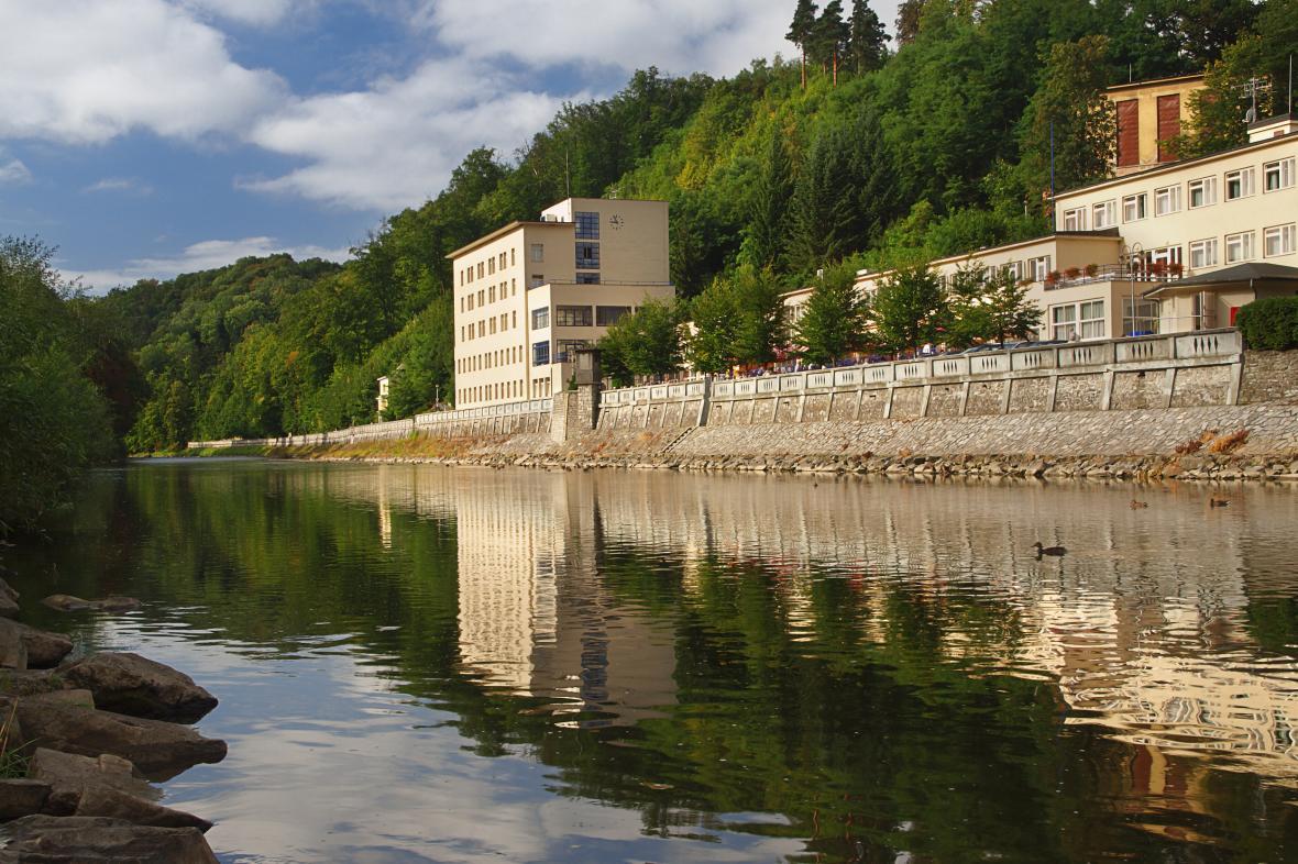 Kolonáda v Lázních Teplice nad Bečvou