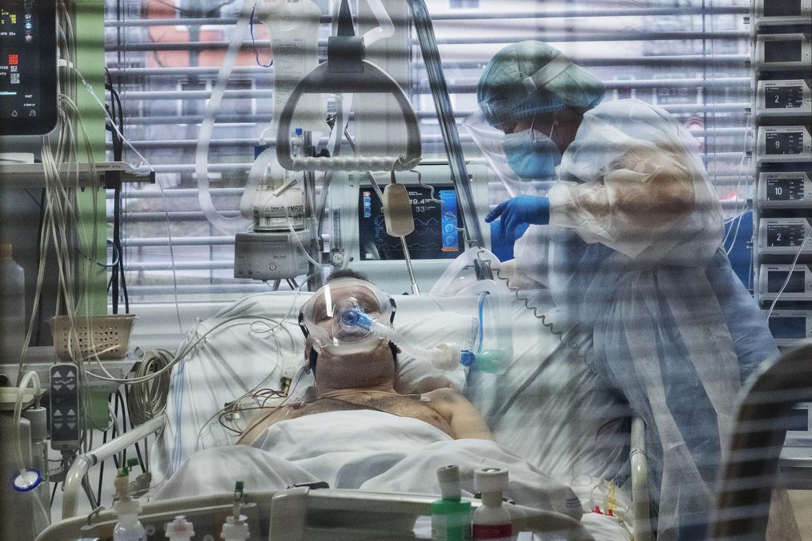 Oddělení intenzivní péče příbramské nemocnice