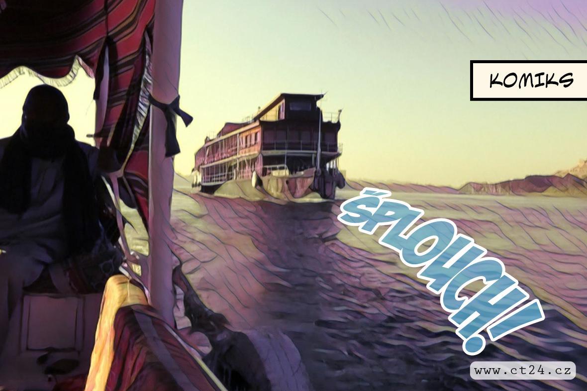 Výletní loď, která byla inspirací pro Agathu Christie, stále jezdí po egyptském veletoku