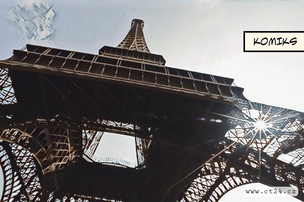 Dominanta Paříže mění vizáž. Nově se Eiffelova věž zbarví dozlatov