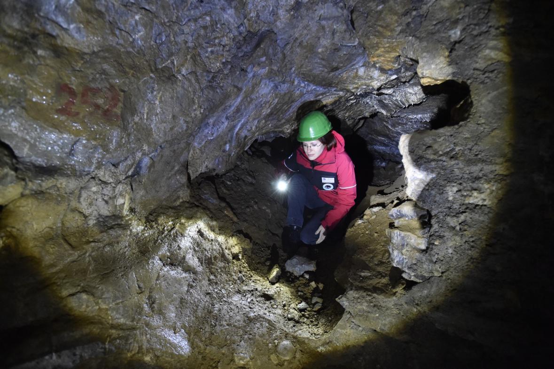 Nově připravovaná trasa v jeskyni Výpustek