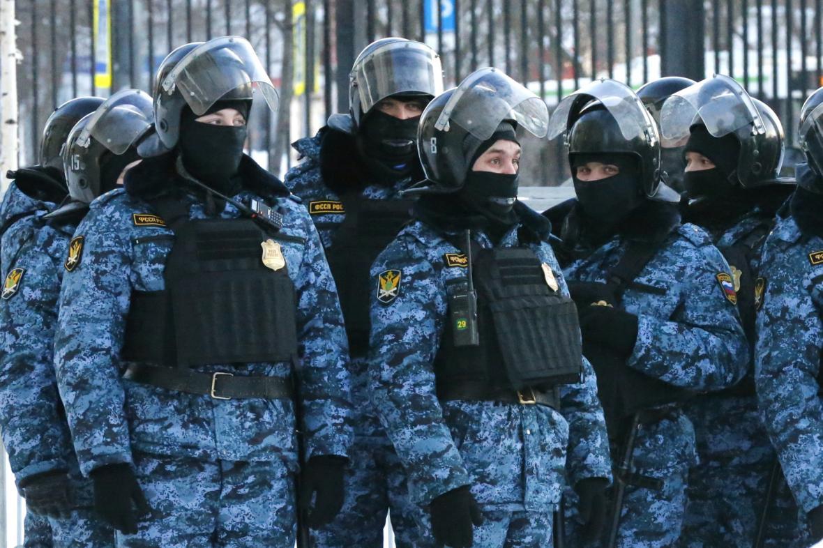 Russian Federal Bailiffs