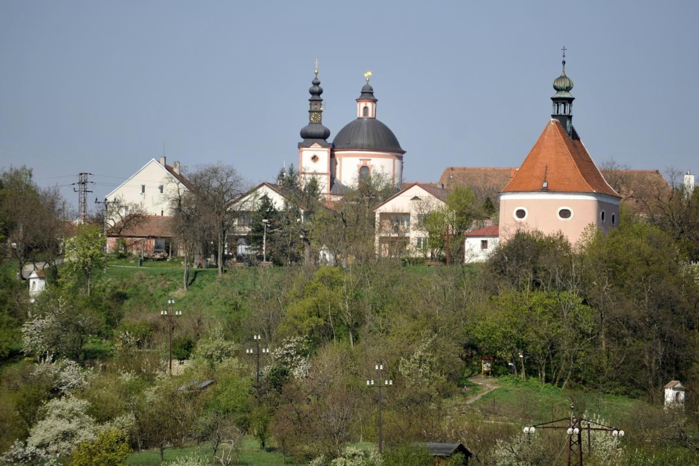 Chrám sv. Hippolyta a klášter Křížovníků s červenou hvězdou ve Znojmě