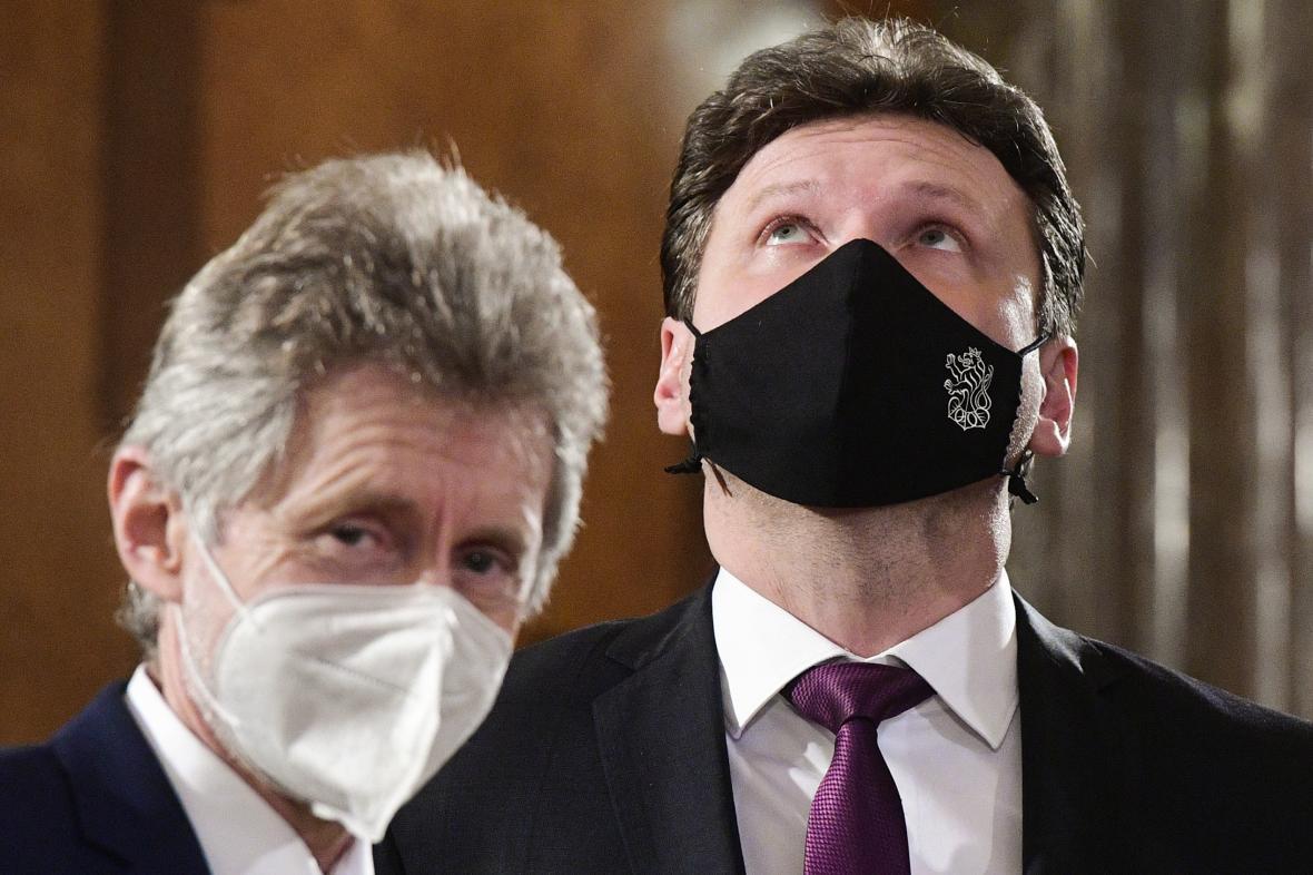 Miloš Vystrčil a Radek Vondráček