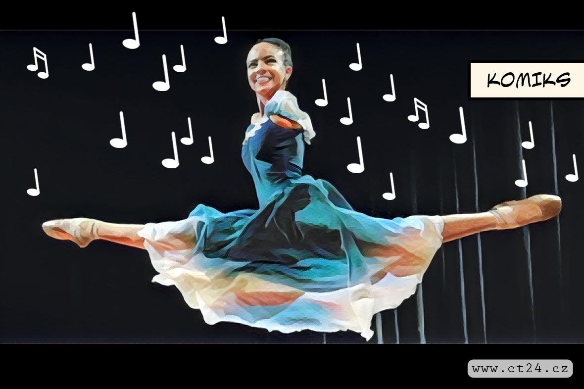 Vitoria Buenová kráčí za svým snem stát se baletkou, handicapu navzdory