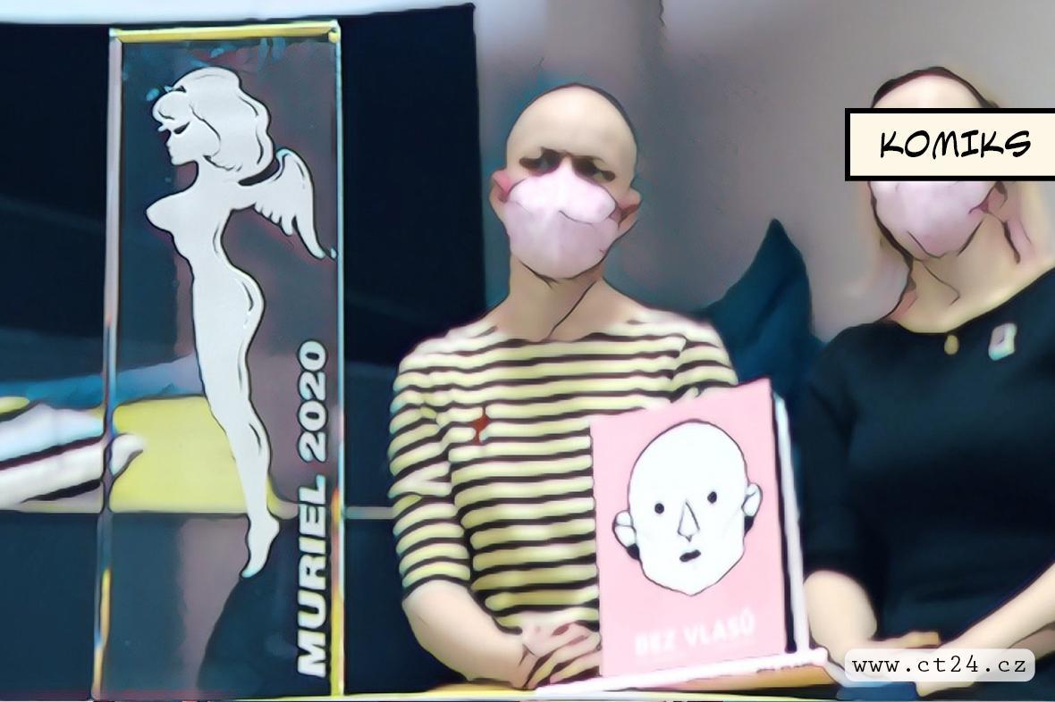 Cenu Muriel za nejlepší komiks získala kniha Bez vlasů. Autorka v ní popisuje život s alopecií