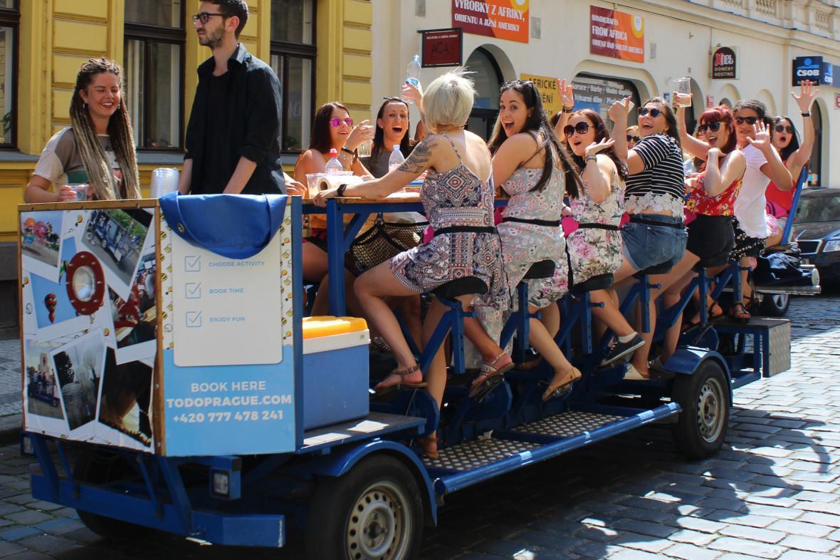 Pivní kolo v Praze
