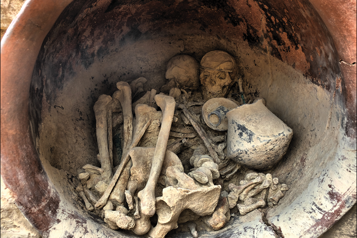 Hrob, který vědci zkoumali