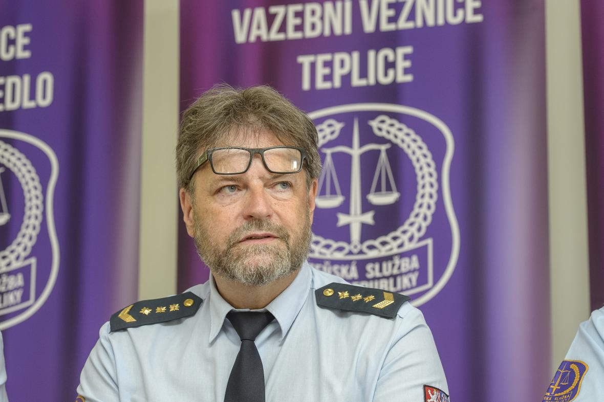 Ředitel Vazební věznice Teplice Petr Blažek