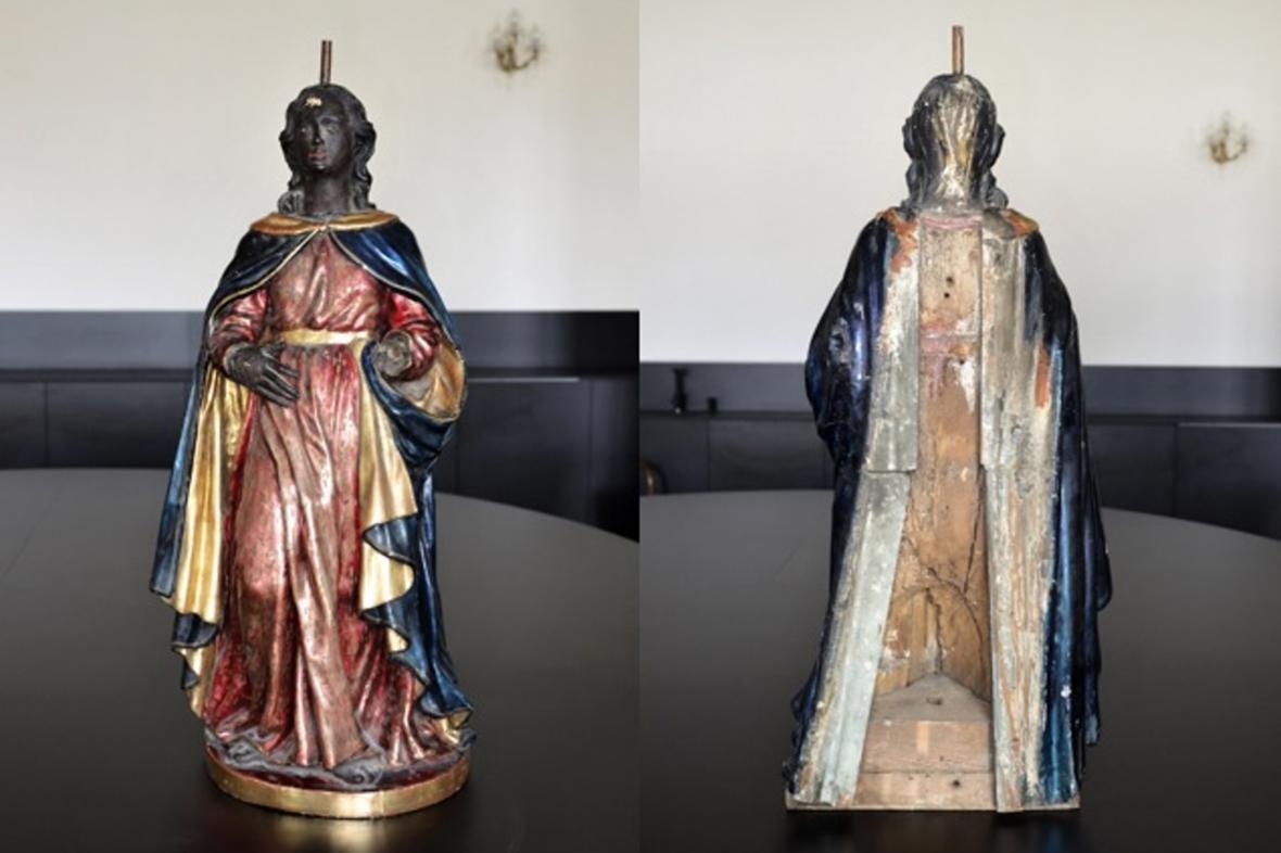 Černá madona z Paláce šlechtičen v Brně