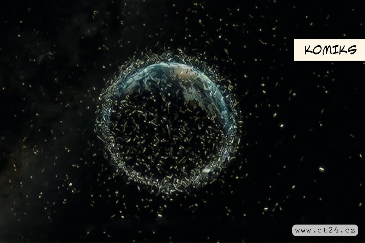 """""""Vesmírní popeláři"""" čistí oběžnou dráhu"""