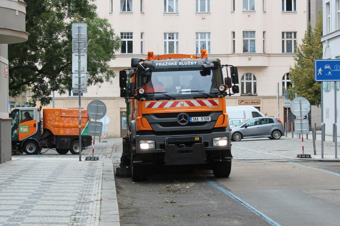 Blokové čištění v Praze