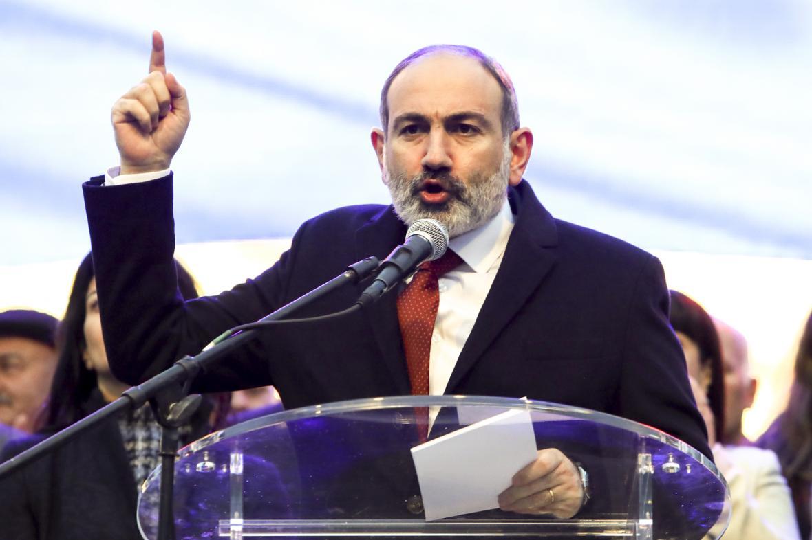 Arménský předseda vlády Nikol Pašinjan