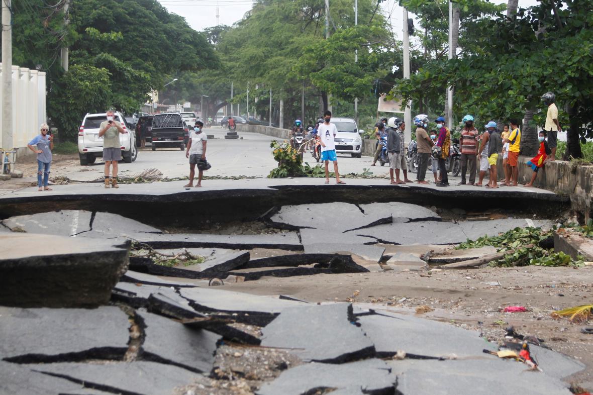 Následky záplav ve Východním Timoru