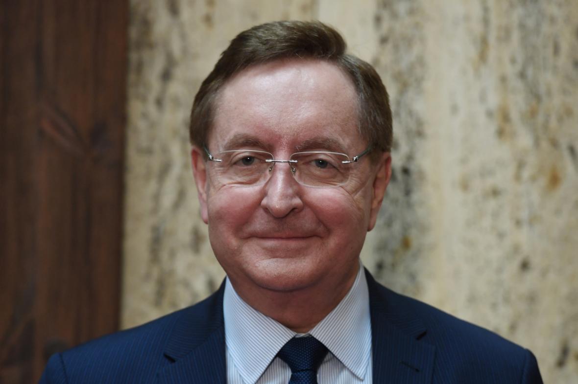 Nový ministr zdravotnictví Petr Arenberger (za ANO)