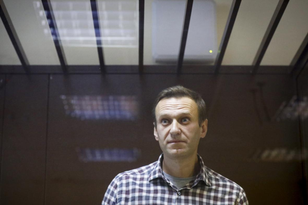 Alexej Navalnyj u soudu