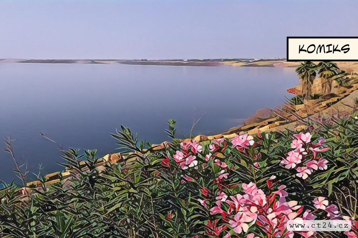 Deštivá zima pomohla zvednout hladinu Mrtvého moře