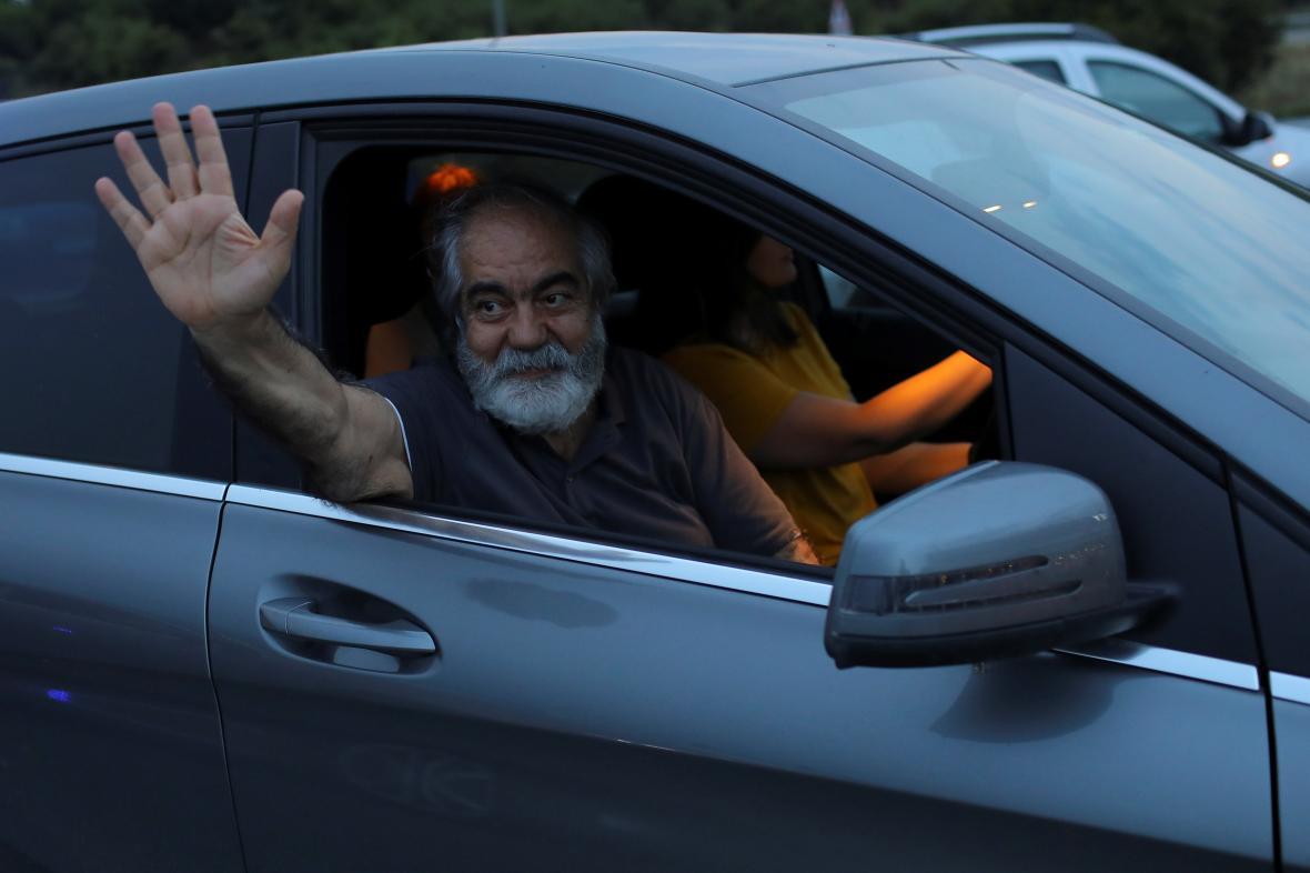 Turecký novinář Ahmet Altan