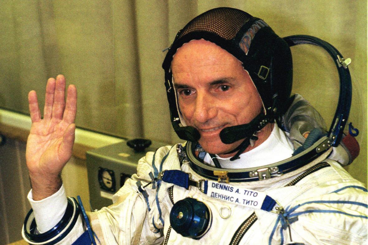 Dennis Tito je považován za prvního vesmírného turisty, byť on sám toto označení odmítá
