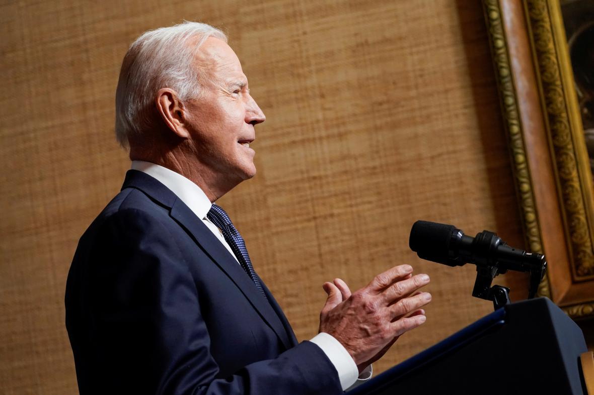 Joe Biden oznamuje odchod vojsk z Afghánistánu