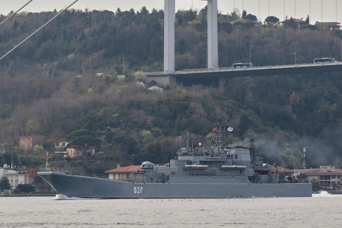 Ruská námořní loď Kondopoga