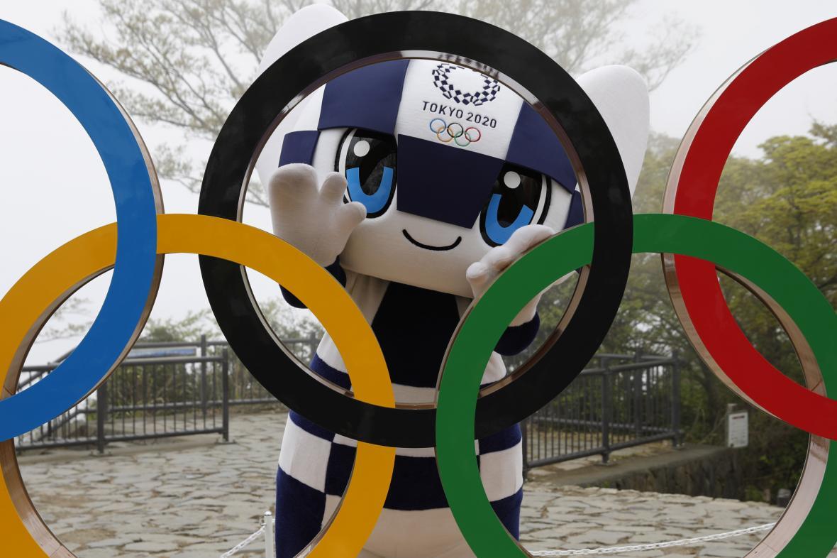 Maskot olympijských her v Tokiu