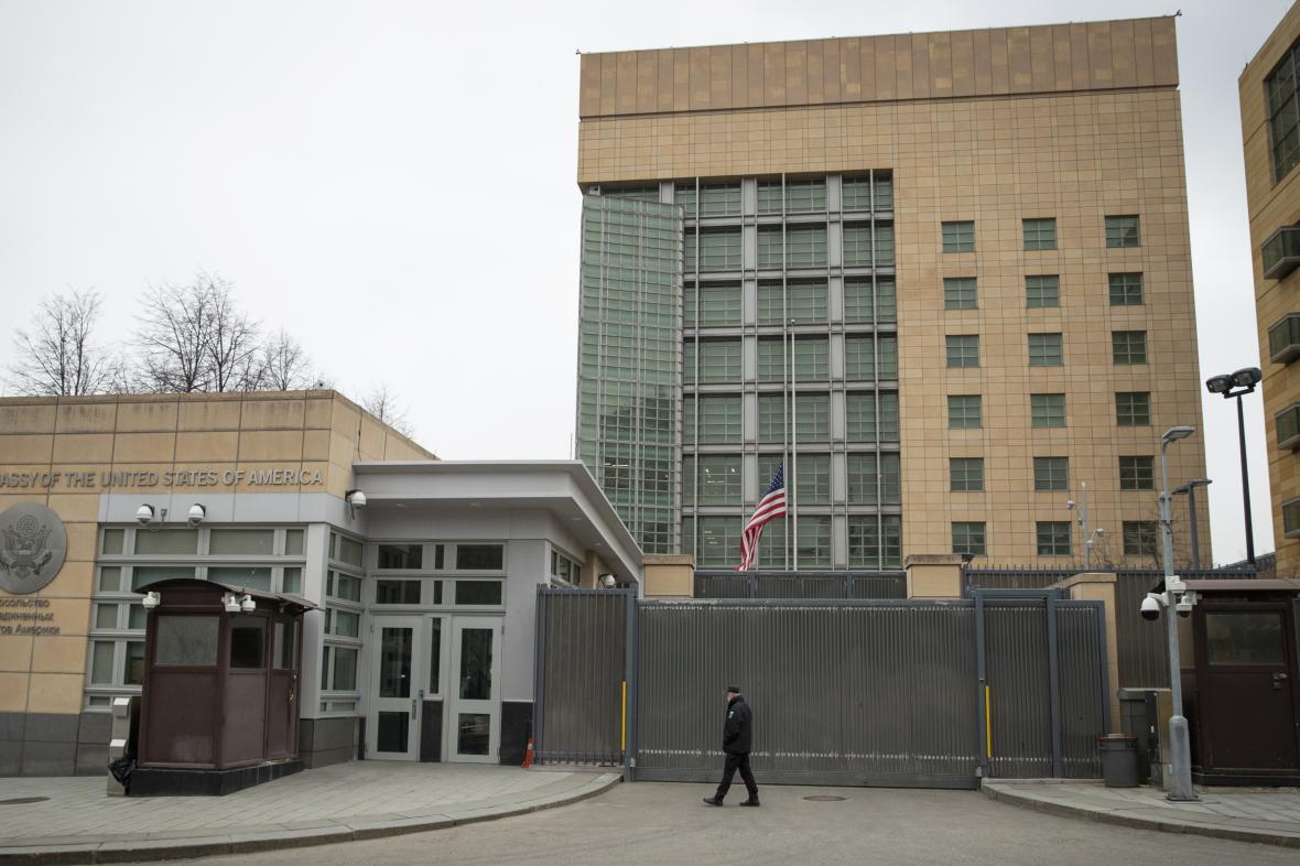 Americká ambasáda v Moskvě