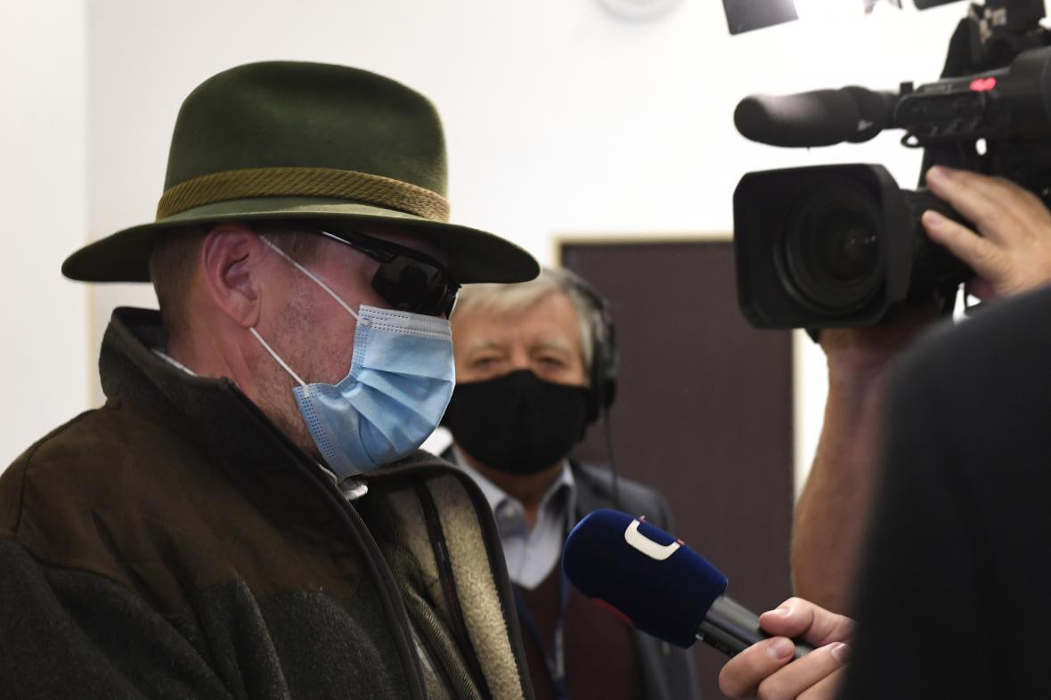 Miloš Balák u soudu v říjnu 2020