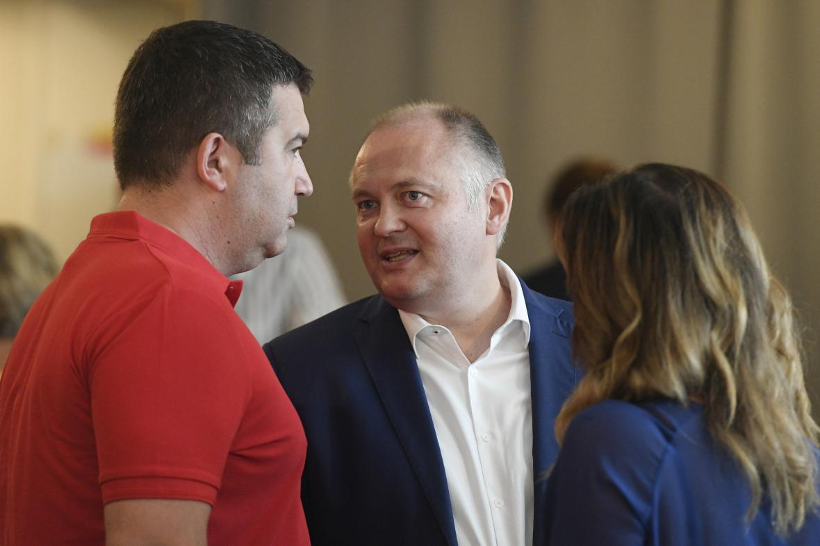 Michal Hašek jako volební manažer ČSSD v srpnu 2020