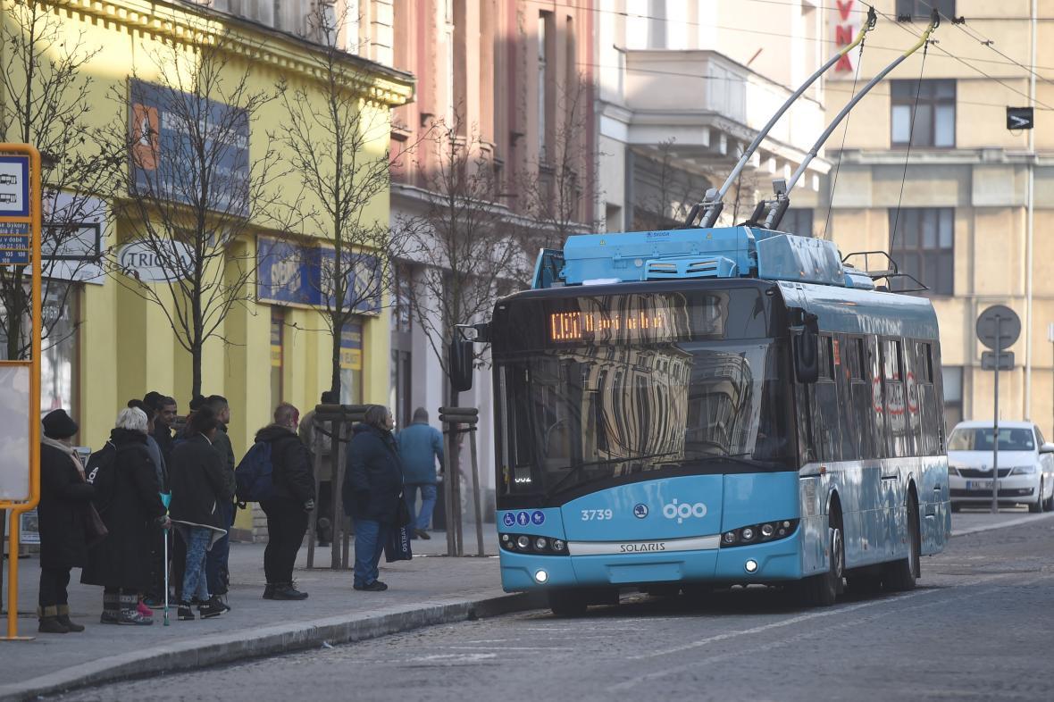 Trolejbus Dopravního podniku Ostrava