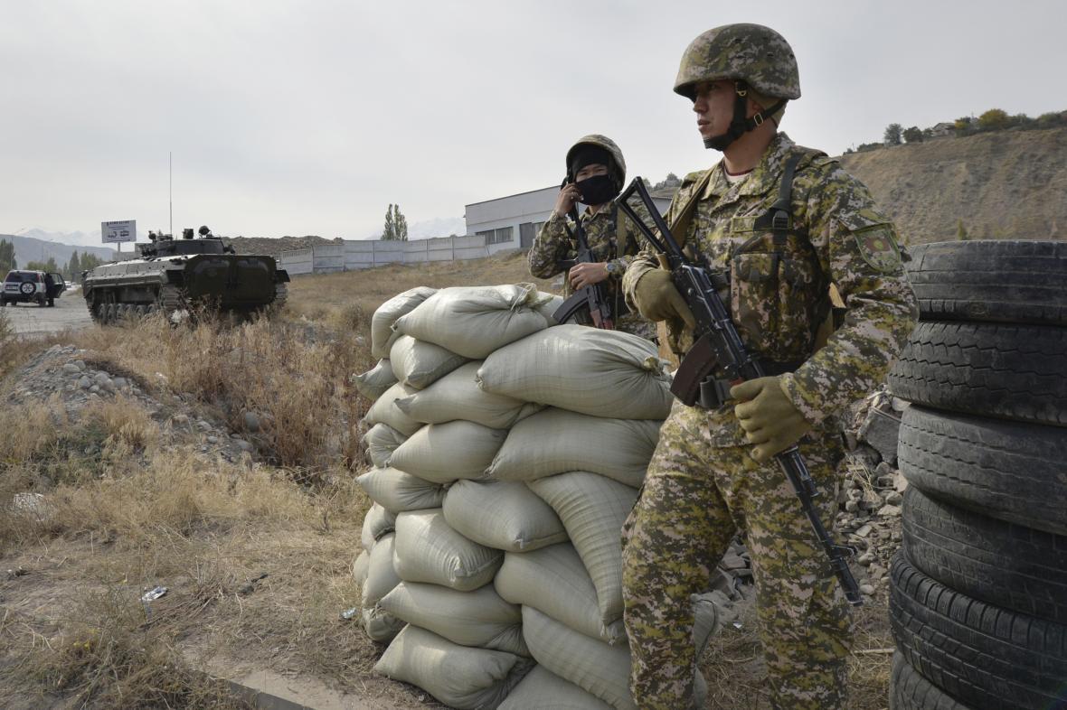 Armáda Kyrgyzstánu - ilustrační foto