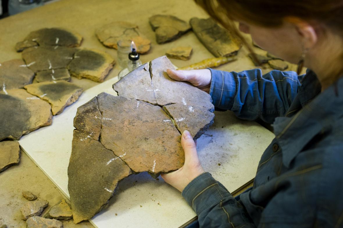Archeologický nález - ilustrační snímek