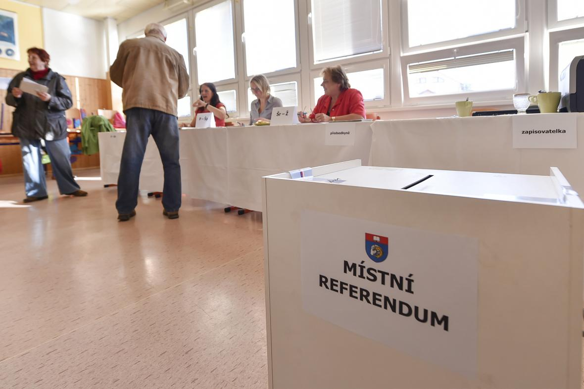 Referendum ve Velkém Beranově (2018)