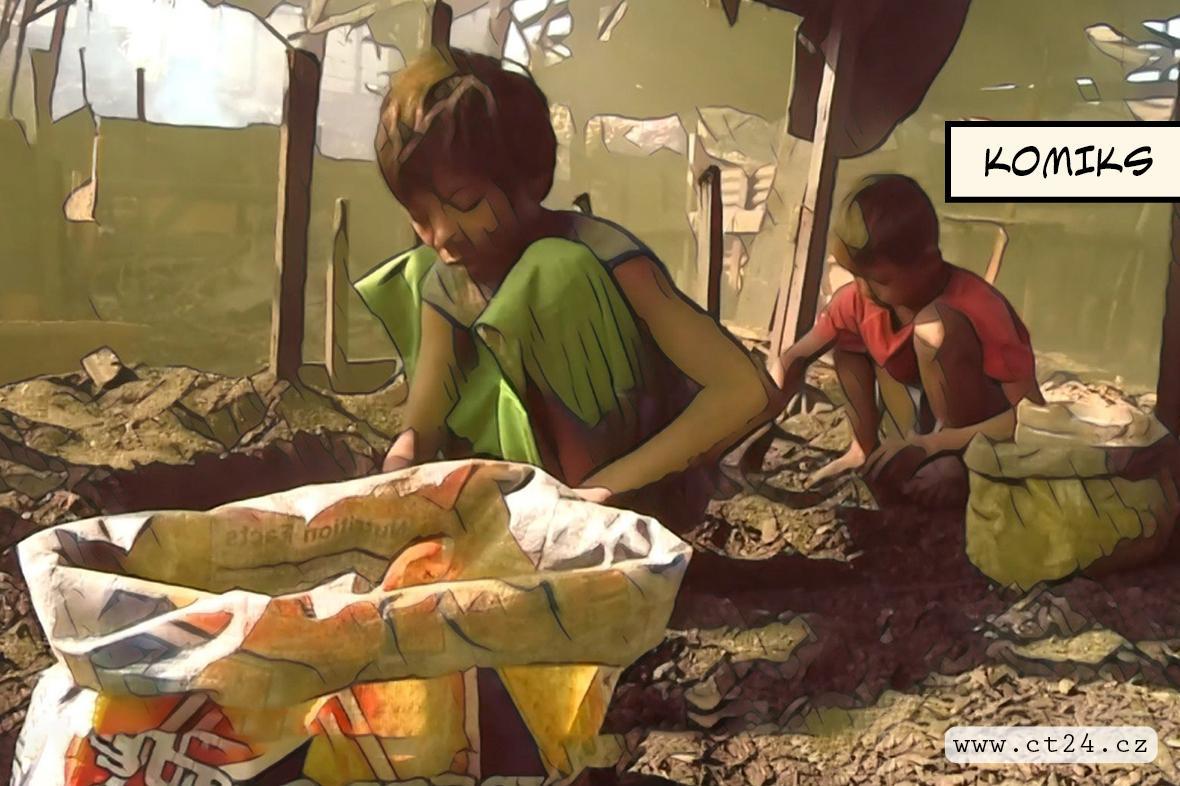 Kakaový průmysl ve stínu dětské práce