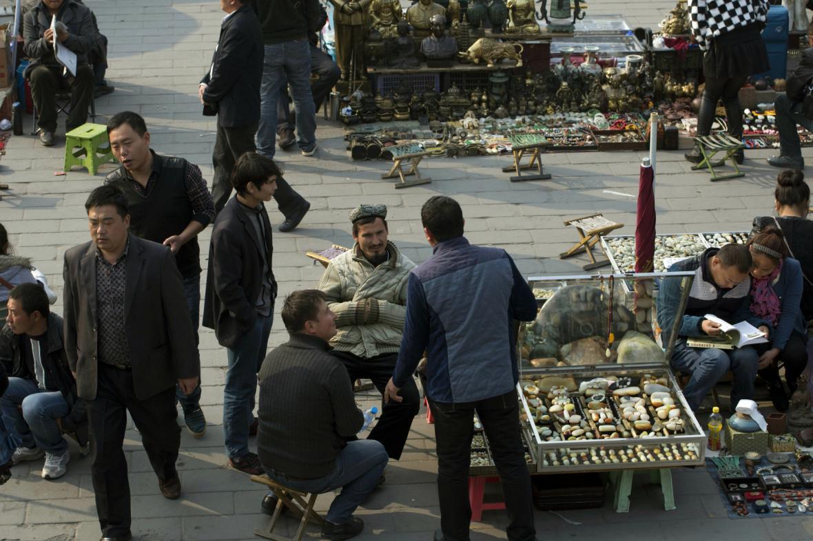 Ujgurové ve východočínské provincii Sin-ťiang