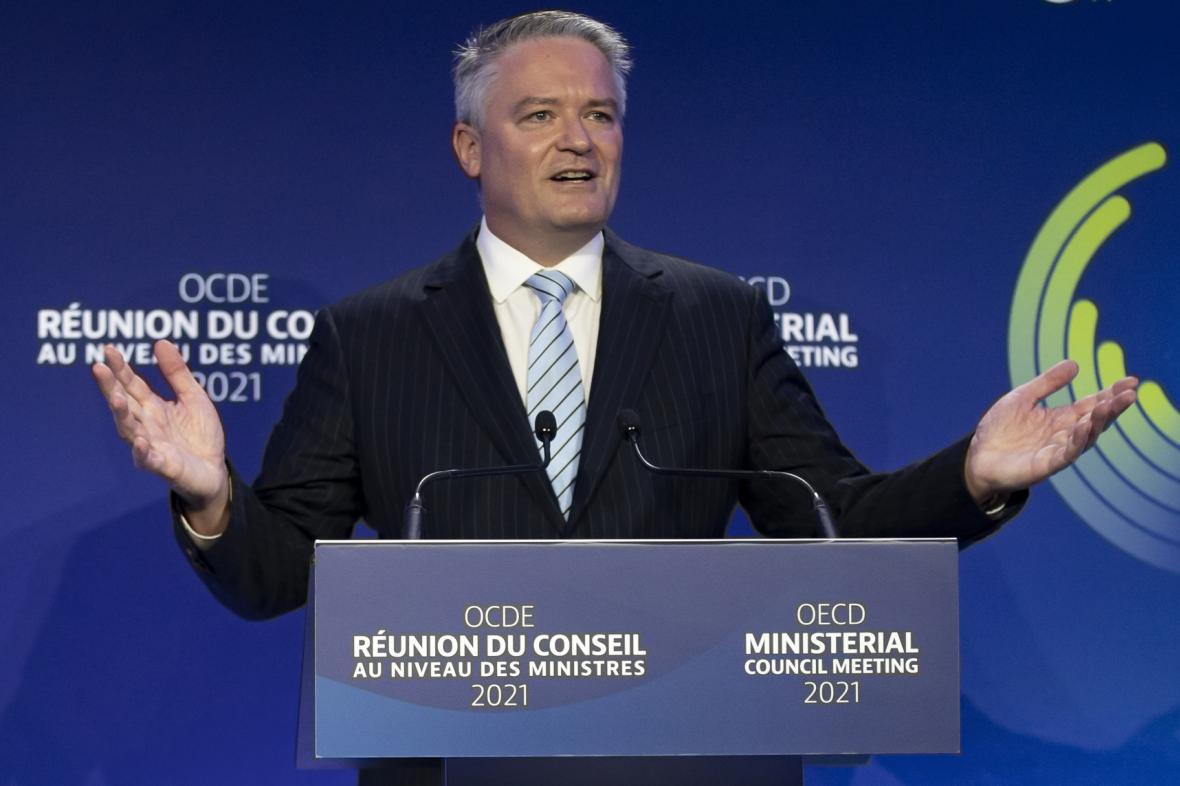 Nový šéf OECD Mathias Cormann při prvním projevu ve funkci