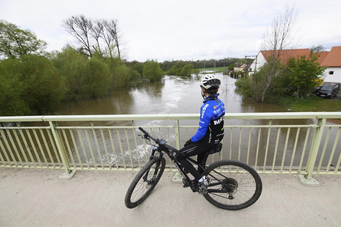 Cyklista v Plzni