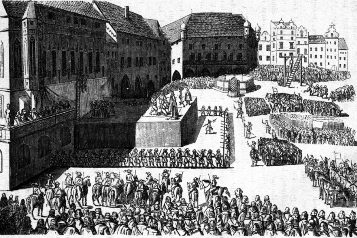 Poprava sedmadvaceti českých pánů 21. června 1621
