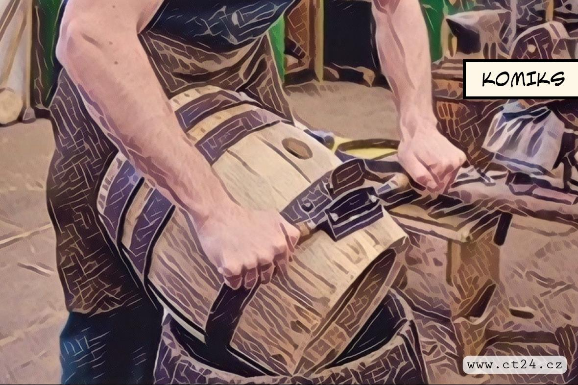 Bednářství patří mezi zapomenutá řemesla. Tradičním způsobem v Česku vyrábí už jen pár firem