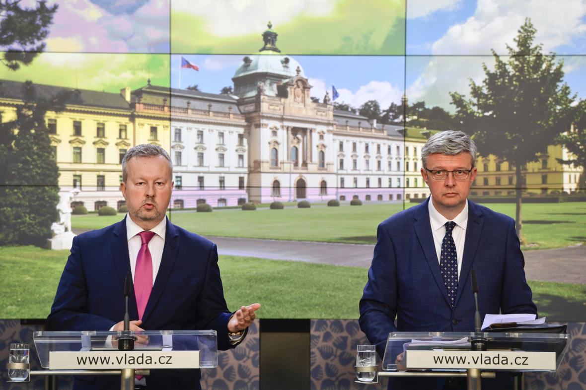 Richard Brabec a Karel Havlíček (oba ANO)