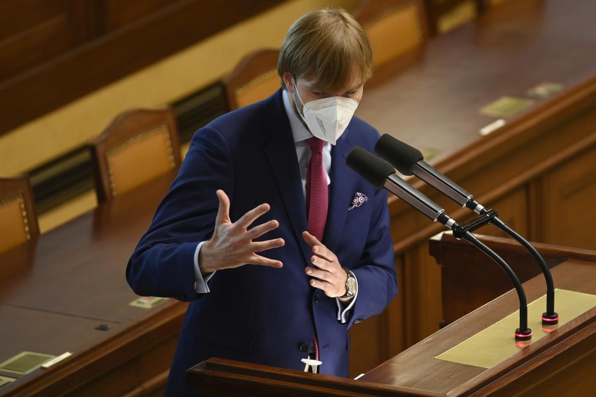 Adam Vojtěch v Poslanecké sněmovně
