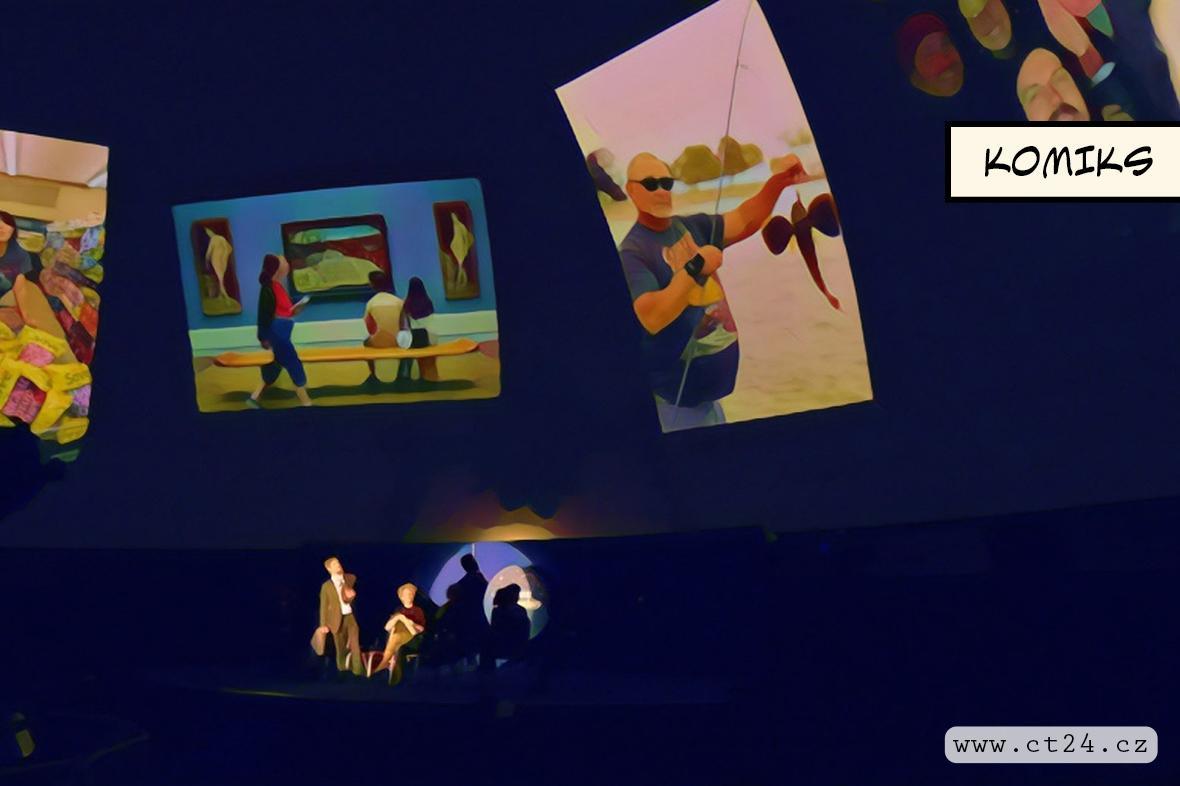 Divadlo Na Zábradlí vyšle vzkazy mimozemským civilizacím z pražského planetária
