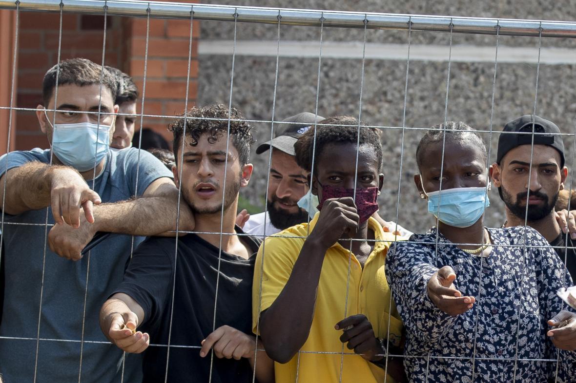 Uprchlický tábor v Litvě