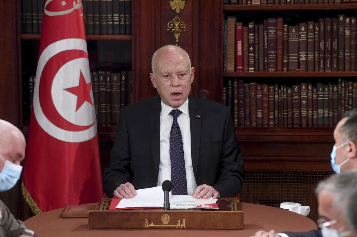 Tuniský prezident Kaís Saíd