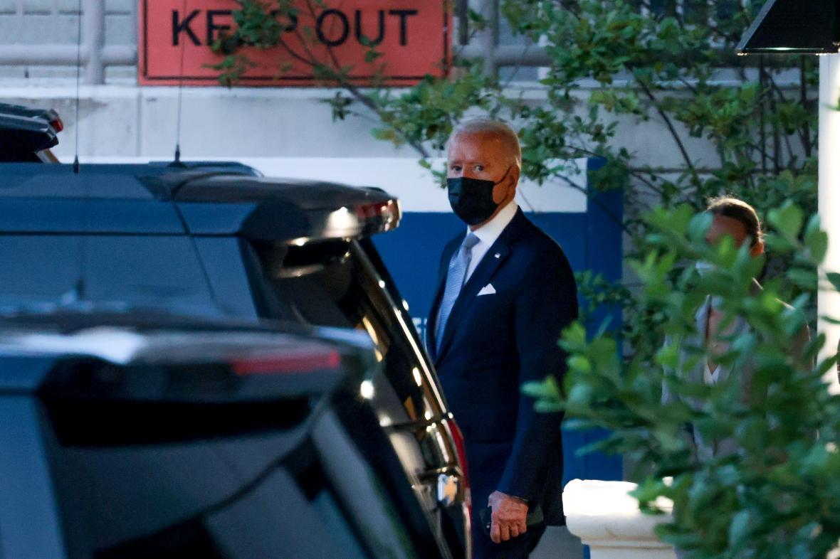 Joe Biden na snímku z 29. července 2021